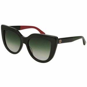 Gucci Sunglasses Green Gradient Lens